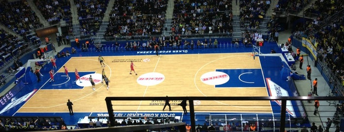 Ülker Sports Arena Küçük Salon is one of ● Fenerbahçe Republic ★☆★.
