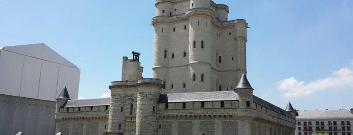 """Château de Vincennes is one of Le parcours """"Pass Jeunes""""."""