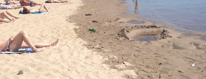 Пляж молодіжниий is one of Orte, die Валентина gefallen.