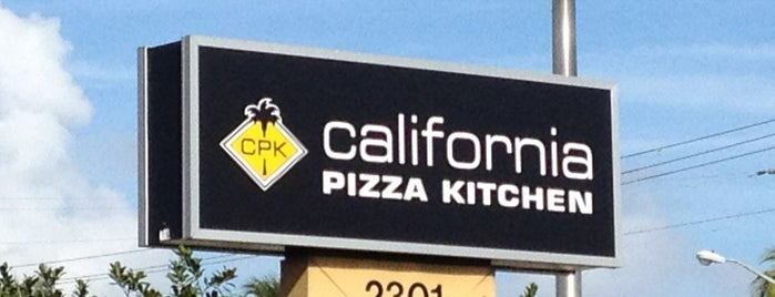 California Pizza Kitchen is one of Restaurants.