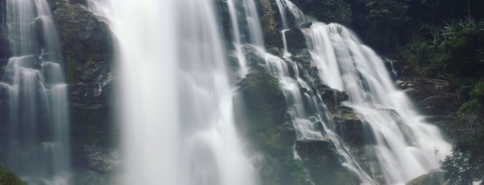 Wachirathan Waterfall is one of Trips / Thailand.