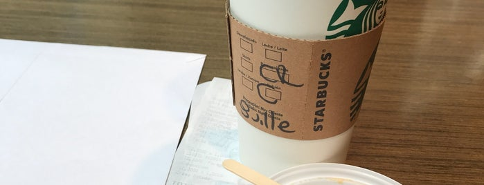 Starbucks is one of BA Cafeterías.