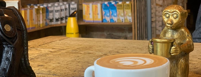 Allpress Espresso Roastery & Cafe is one of London Todo.