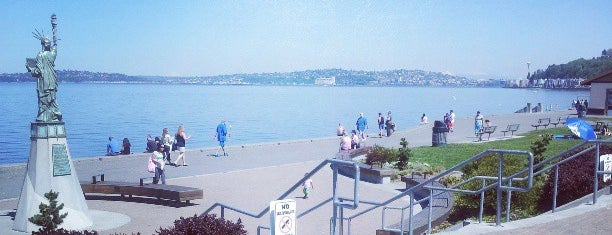 Alki Beach Park is one of Seattle's 400+ Parks [Part 1].