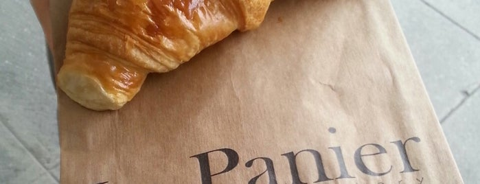 Le Panier is one of Favourite Seattle Croissants.