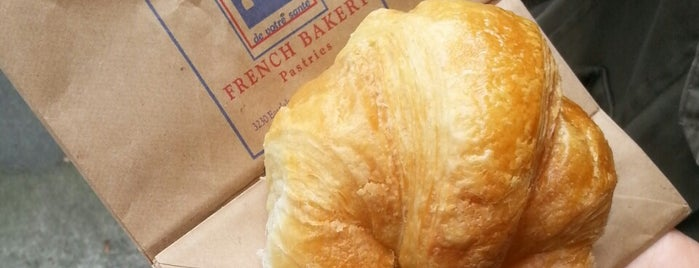 Le Fournil is one of Favourite Seattle Croissants.