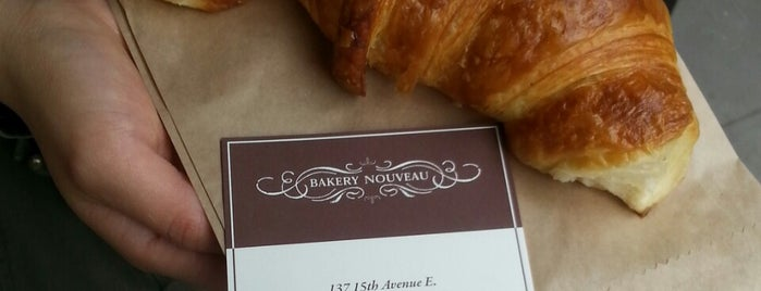 Bakery Nouveau is one of Favourite Seattle Croissants.
