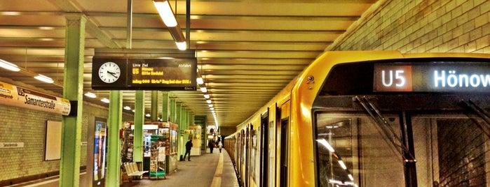 U Samariterstraße is one of U & S Bahnen Berlin by. RayJay.