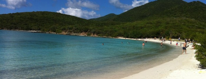Salt Pond Bay is one of St John.