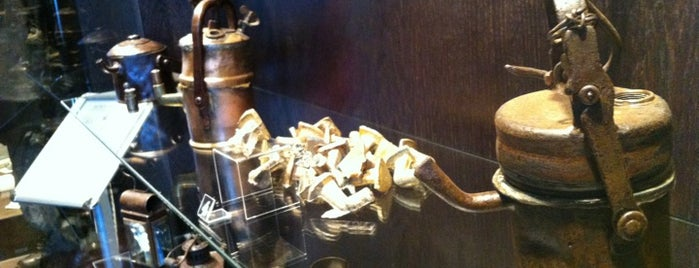 "Expozitia ""Aurul Apusenilor"" is one of Tempat yang Disukai George."