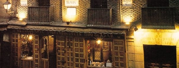 Botín is one of Comer en Madrid.