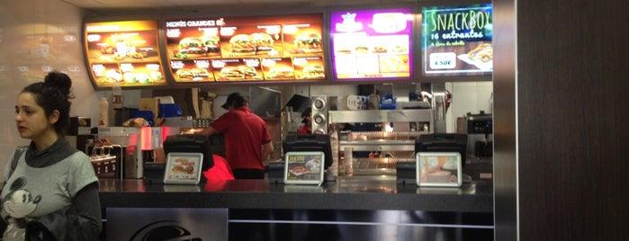 Burger King is one of Favoritos Santander.