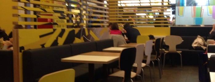 McDonald's is one of Tempat yang Disukai Margarita.