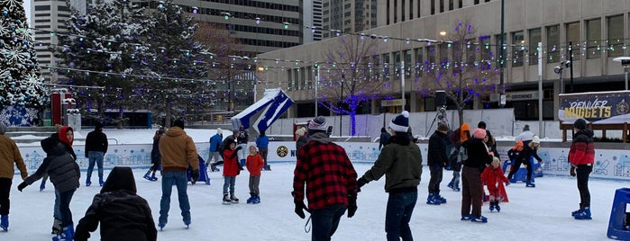 Downtown Ice Rink is one of Denver 2018 Christmas.