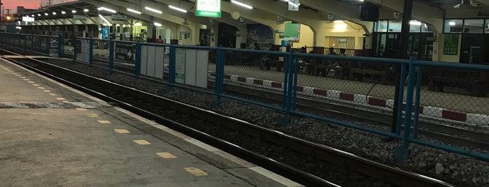 Saraburi Railway Station (SRT2007) is one of สระบุรี, นครนายก, ปราจีนบุรี, สระแก้ว.