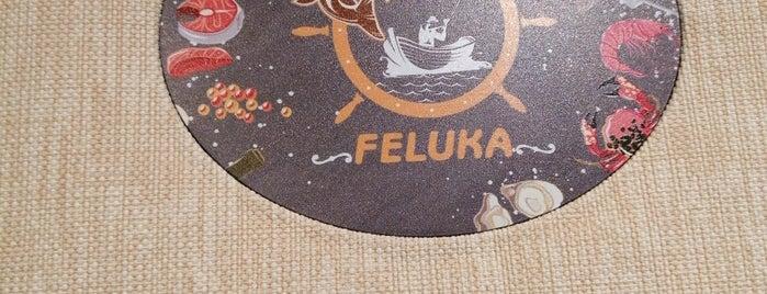 Feluka Restaurant is one of Istanbul Sea Food.