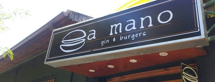 A Mano Gin&Burgers is one of Locais curtidos por Sergio Marcelo.