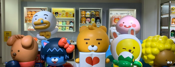 KAKAO Friends Flagship Store is one of Orte, die Sung Han gefallen.