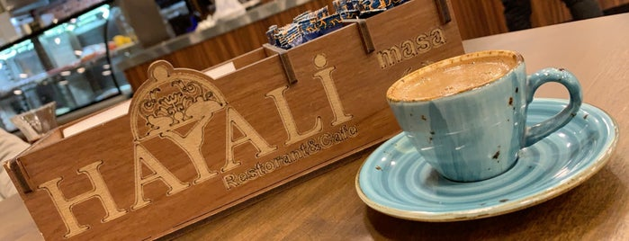 Hayali Restorant & Cafe, Başakşehir is one of Istanbul.