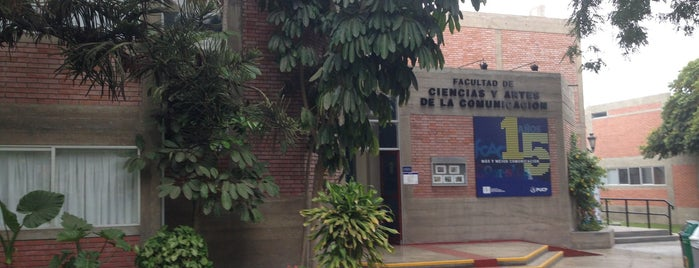 Facultad de Ciencias y Artes de la Comunicación PUCP is one of PUCP.