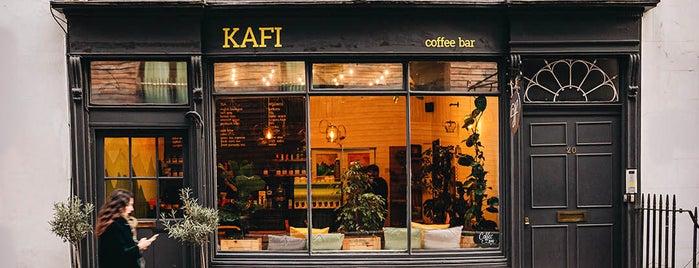 Kafi Cafe is one of LDN - Brunch/coffee/ breakfast.