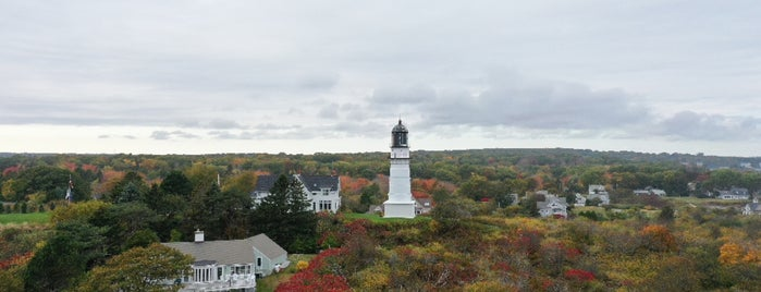 Cape Elizabeth Lighthouse is one of Meandering Maine.