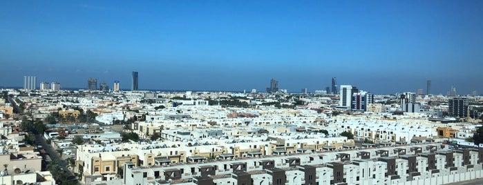 Al Murjana Tower is one of Tempat yang Disukai Dr . Taghreed.