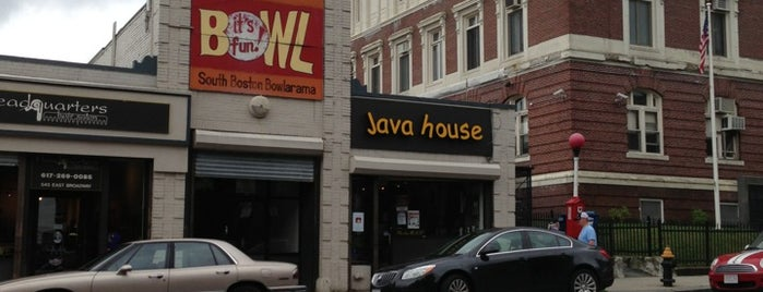 Java House is one of Southie Musts.
