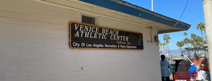 Muscle Beach is one of LA.