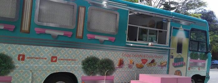 Crispy Haüs Food Truck is one of Food Trucks Cancun.