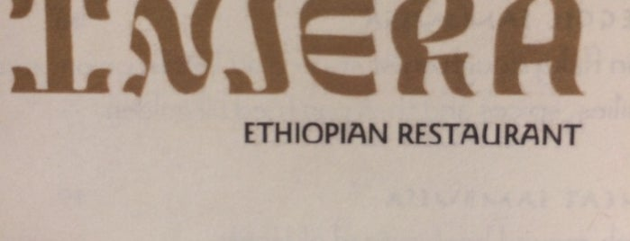 Injera is one of New York - Short list.