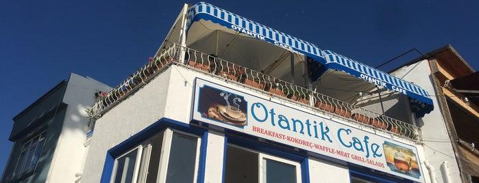 Otantik Cafe is one of Posti che sono piaciuti a Çiğdem.