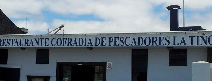 Cofradia de Pescadores La Tiñosa is one of Canary Islands.