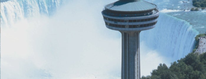Skylon Tower is one of For the Love of Heights.