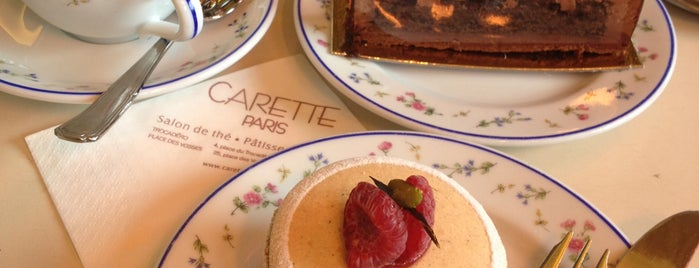 Carette is one of Paris // Tea, Cake, Coffee & More.