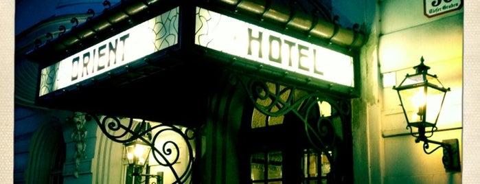 Hotel Orient Vienna is one of Ö-Untiefen nach Jelinek.