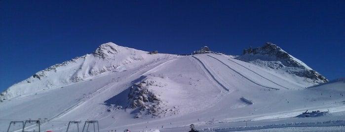 Hintertuxer Gletscher is one of Zillertal.