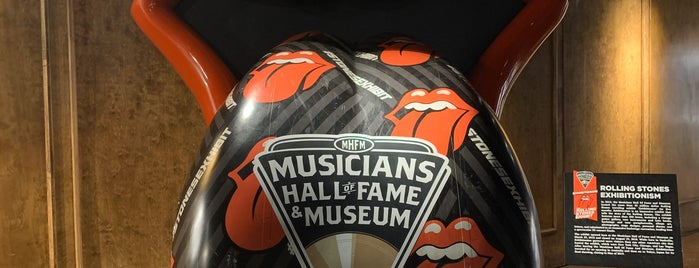 Musicians Hall of Fame is one of NASHVILLE.
