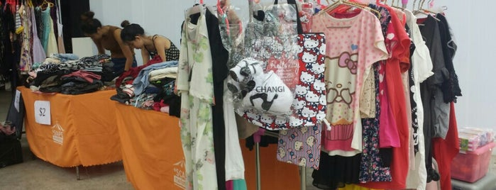 *SCAPE Flea Market is one of Singapore: business while travelling part 3.