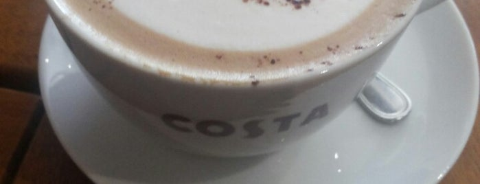 Costa Coffee is one of Favorites in Egypt.