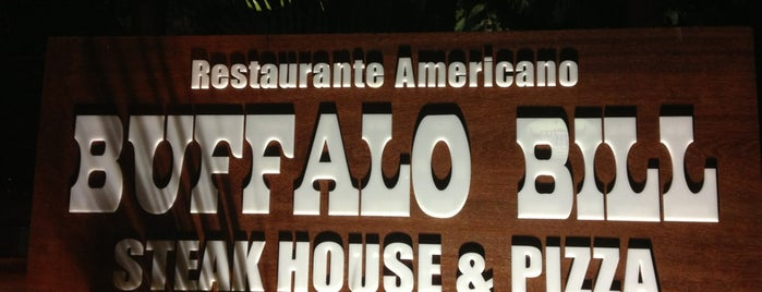 Buffalo Bill Steakhouse is one of Lugares favoritos de Bruno.