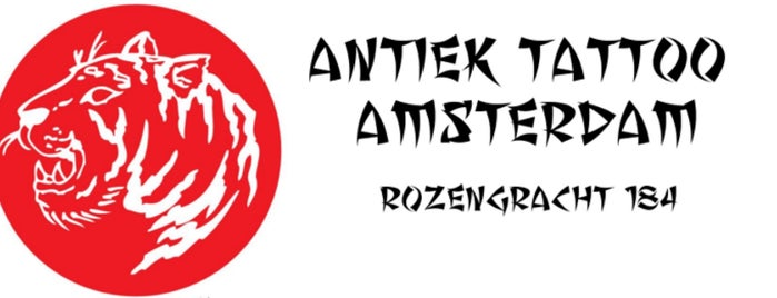 Antiek Tattoo is one of AMSTERDAM LETTERHEADS 2016.
