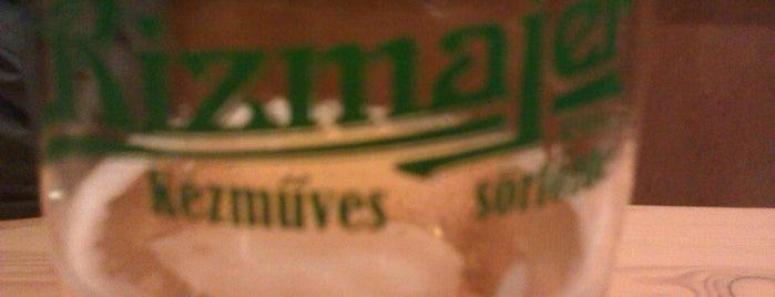 Rizmajer Kézműves Sörház is one of Kézműves - Kis főzdés sörök.