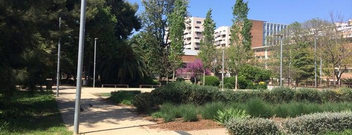 Jardins dels Drets Humans is one of Ruta a Sants-Montjuïc. La ruta verda.