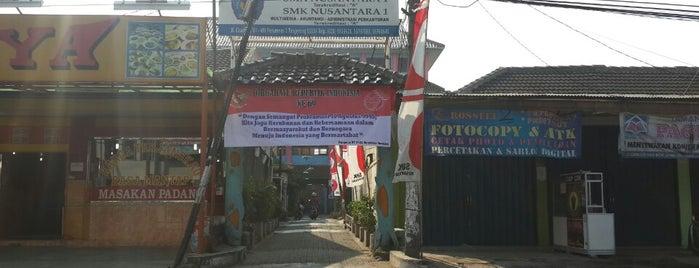 SMA Nusantara 1 Tangerang is one of Lugares favoritos de Kemas.