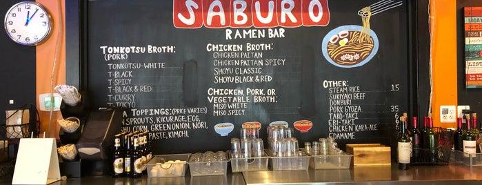 Saburo Ramen is one of ramen.