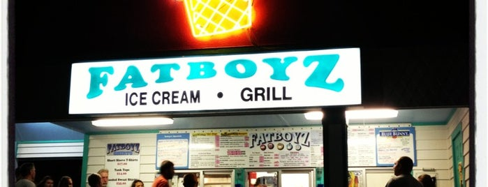 Fatboyz Ice Cream and Grill is one of Dog Friendly Restaurants & Bars.