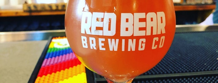 Red Bear Brewing Co is one of Adamさんのお気に入りスポット.