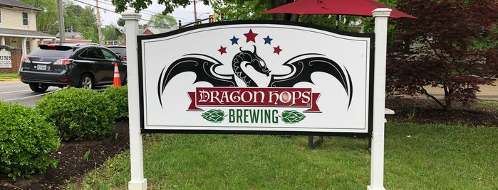 Dragon Hops Brewing is one of Loudoun Ale Trail.
