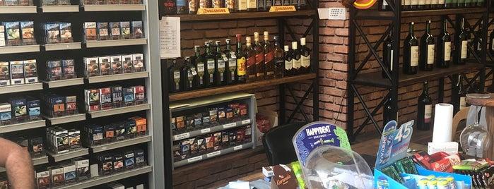Mahzen Wine House & Tobacco Shop is one of En İyi Tasarımlı Şarap Ve İçki Mağazaları.